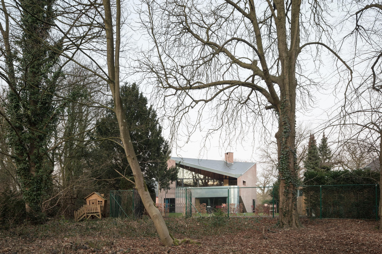 <p>Woning in Schoten door Polygoon. beeld Stijn Bollaert</p>