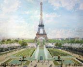 Gustafson Porter + Bowman wint prijsvraag herinrichting gebied Eiffeltoren Parijs