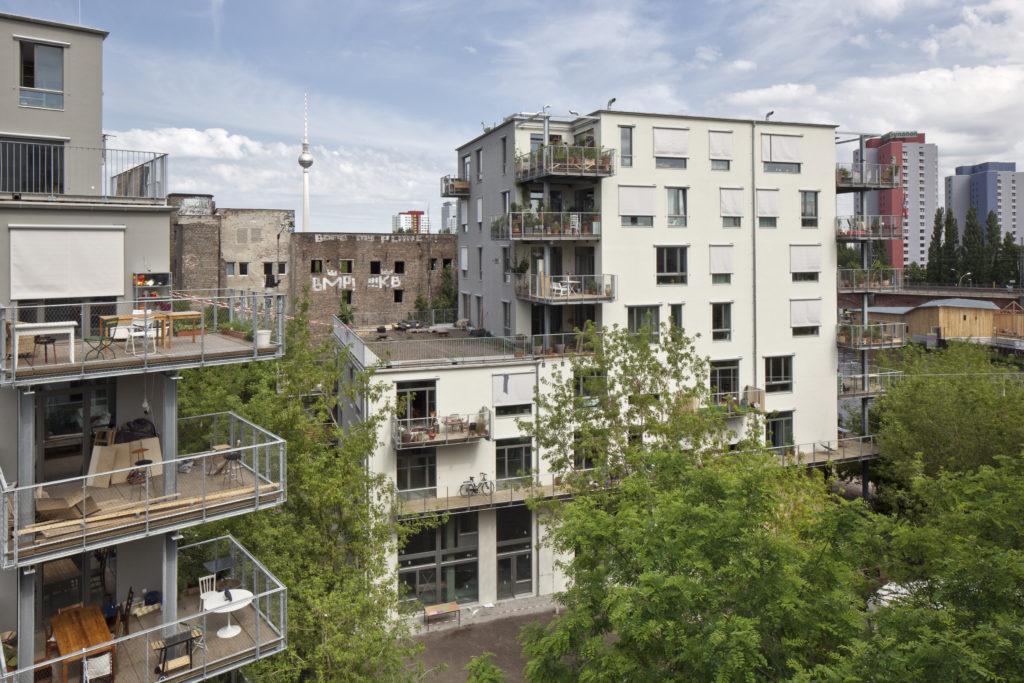 Spreefeld in Berlijn door Carpaneto Architekten, Fatkoehl Architekten en BARarchitekten. Beeld Ute Zscharnt