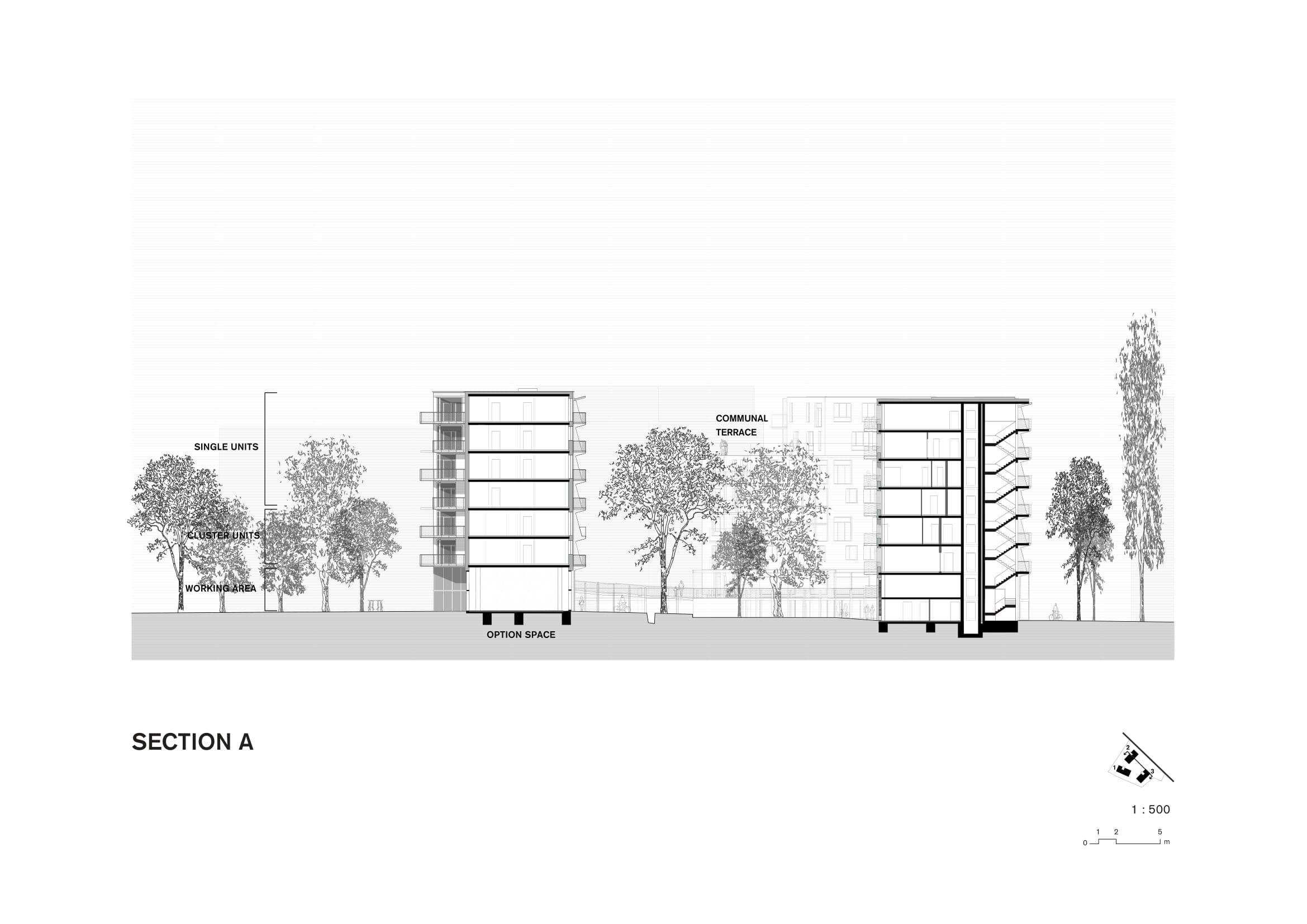 <p>Spreefeld in Berlijn door Carpaneto Architekten, Fatkoehl Architekten en BARarchitekten</p>