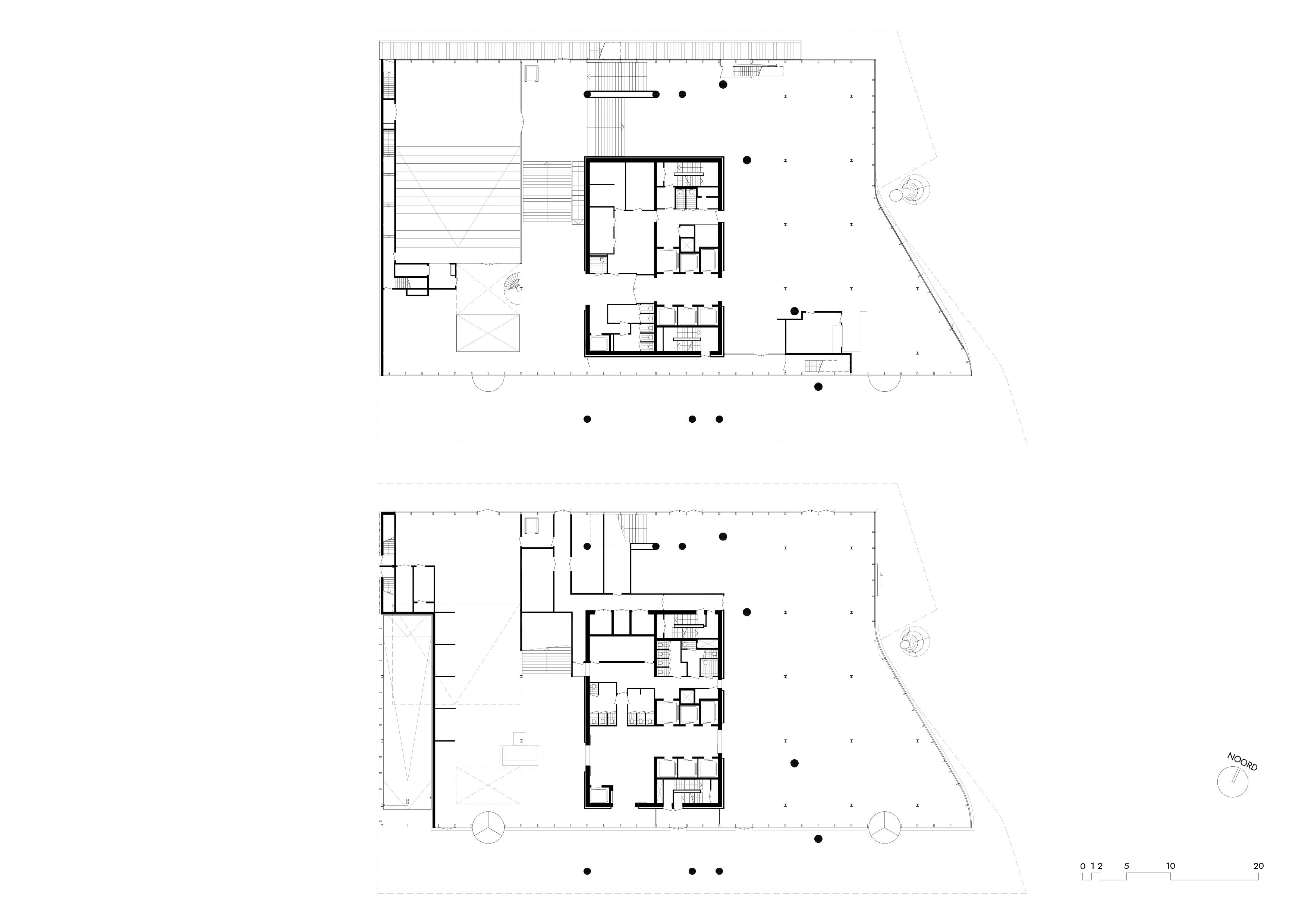 <p>KPN hoofdkantoor &#8211; bgg en 1e verdieping</p>