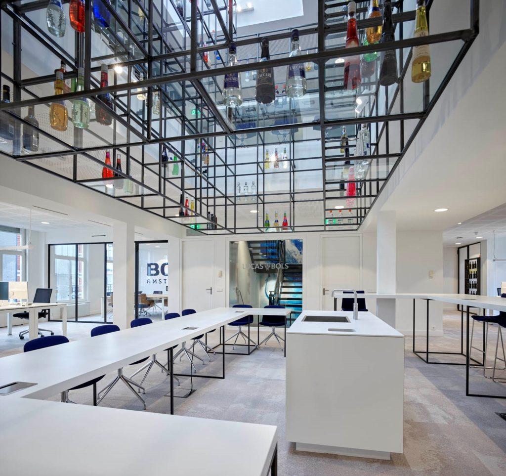 Transformatie hoofdkantoor Bols door Bureau Rowin Petersma. Beeld Kees Hummel