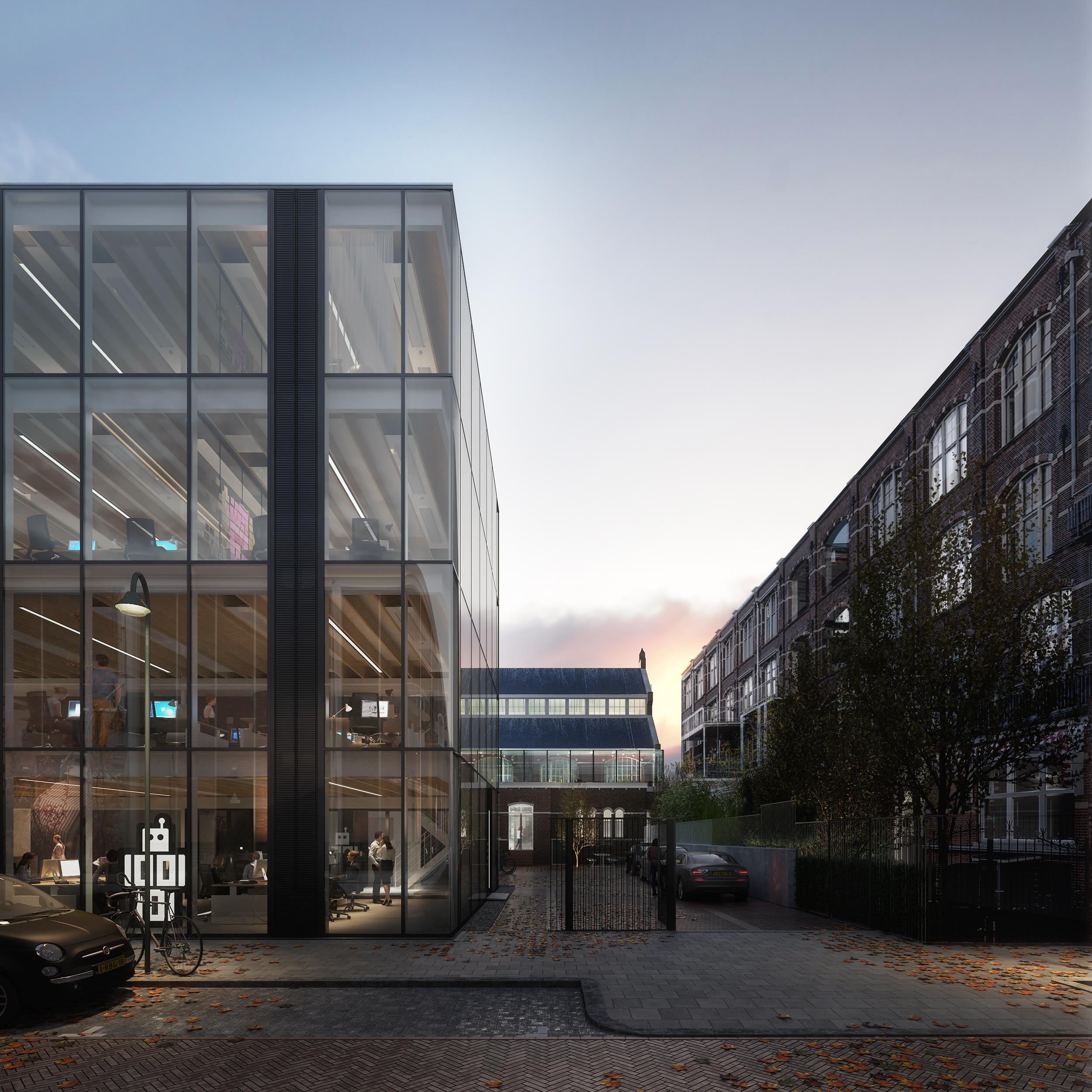Ontwerpwedstrijd Bouwdeel D cepezed terrein Delft