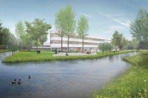 DP6 en Bureau B+B geselecteerd voor onderwijs-gebouwen en landschap Argonautenweg Rotterdam