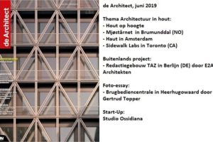 de Architect juni 2019 is verschenen