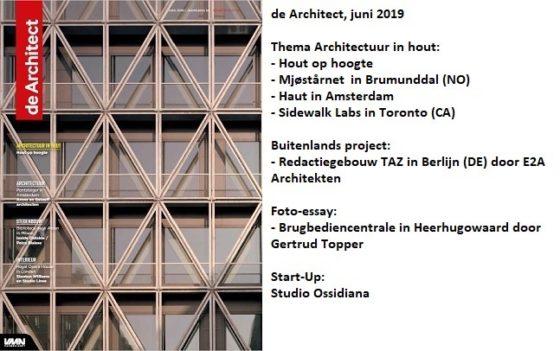 de Architect juni 2019 is verschenen