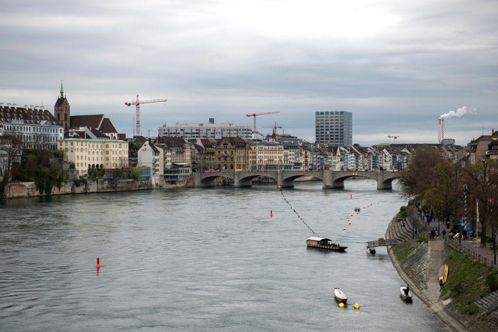 Rijn door Basel, beeld Shutterstock