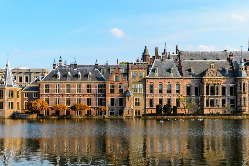 Renovatie Binnenhof Den Haag. Beeld Shutterstock
