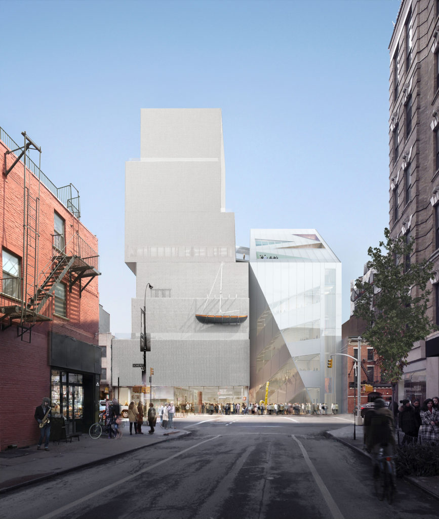 New Museum NY Beeld OMA en BLOOM