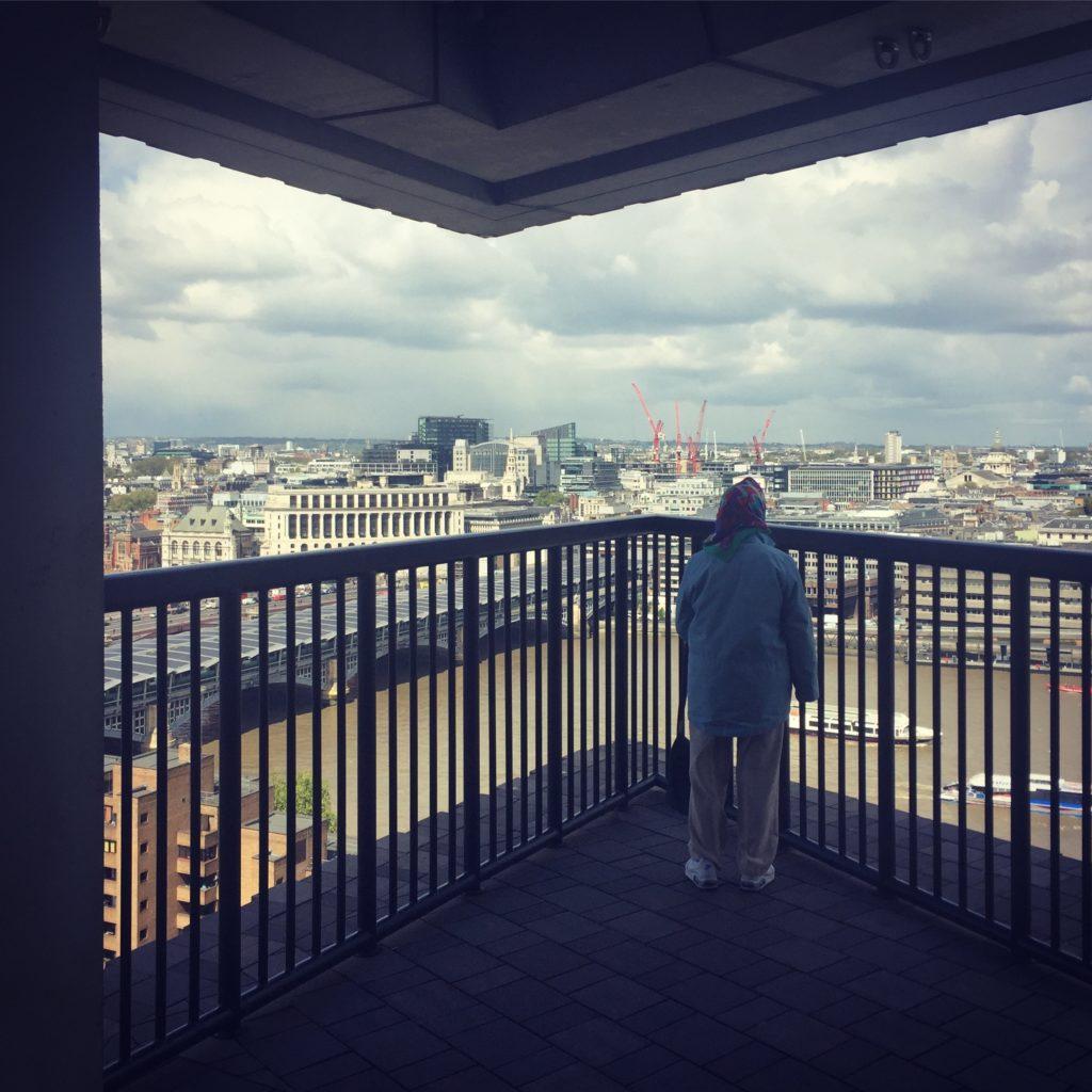 Uitkijkpunt Tate Modern. Beeld Robbert Guis