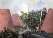 Studio Ossidiana laat eilanden drijven in Amsterdam Allegories