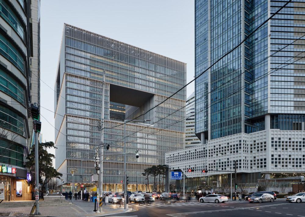Blog – Opengewerkte kubus van David Chipperfield in Seoul