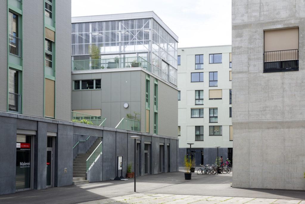 Hunziker Areal Haus J in Zürich doorpool Architekten. Beeld Niklaus Spoerri