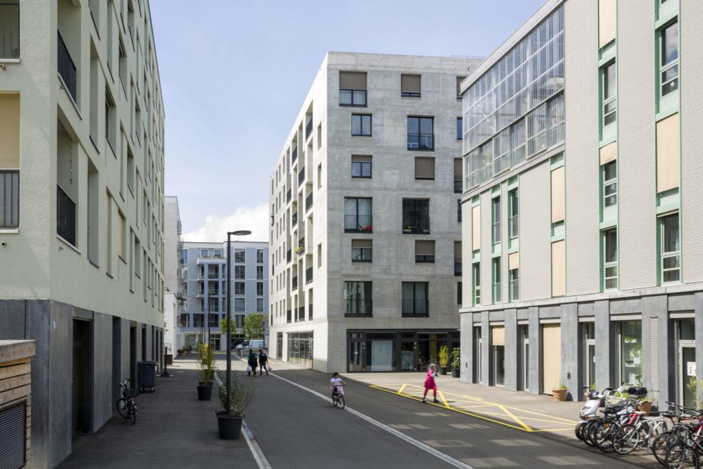 Hunziker Areal Haus G in Zürich doorpool Architekten. Beeld Niklaus Spoerri