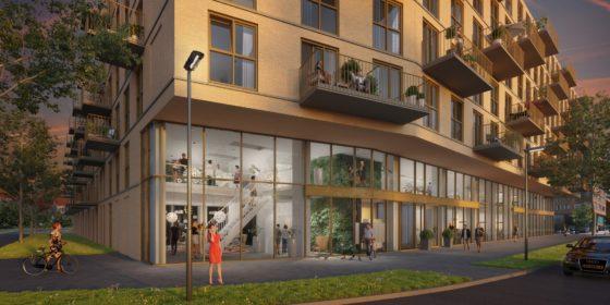 Juli Ontwerp ontwikkelt nieuwe woontoren Buitenhof in Delft