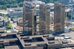 Inauguratie kantoortoren Europese Hof van Justitie in september