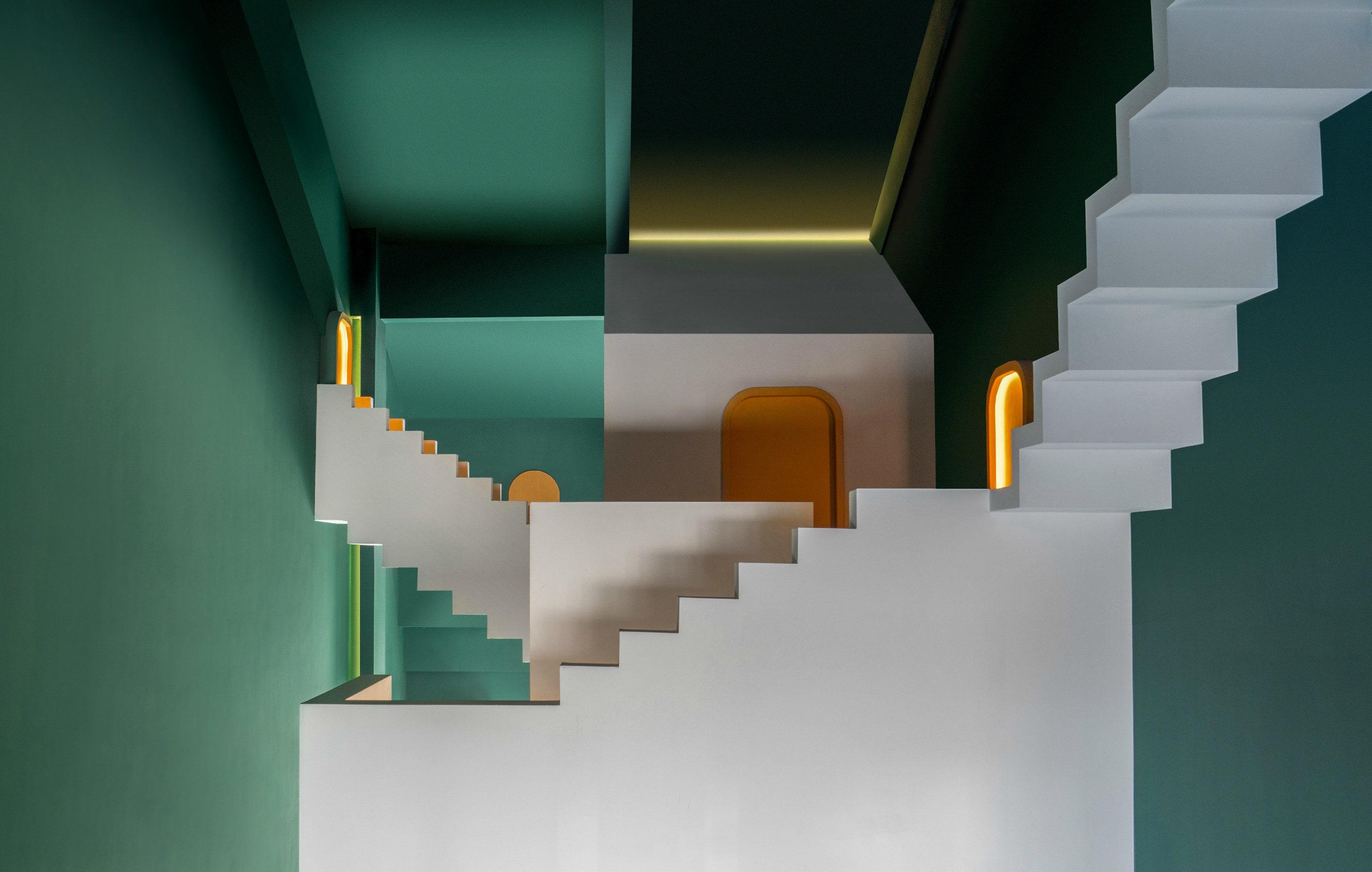 <p>Maze door Studio 10. beeld Chao Zhang</p>