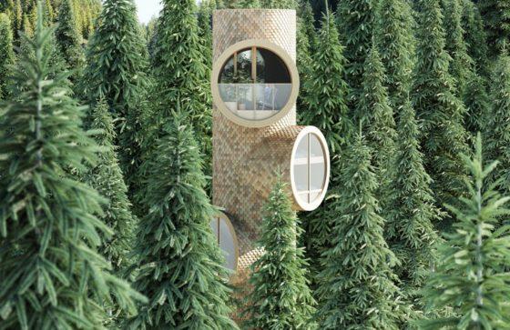 In Beeld – Tiny treehouses door Architectuurstudio Precht