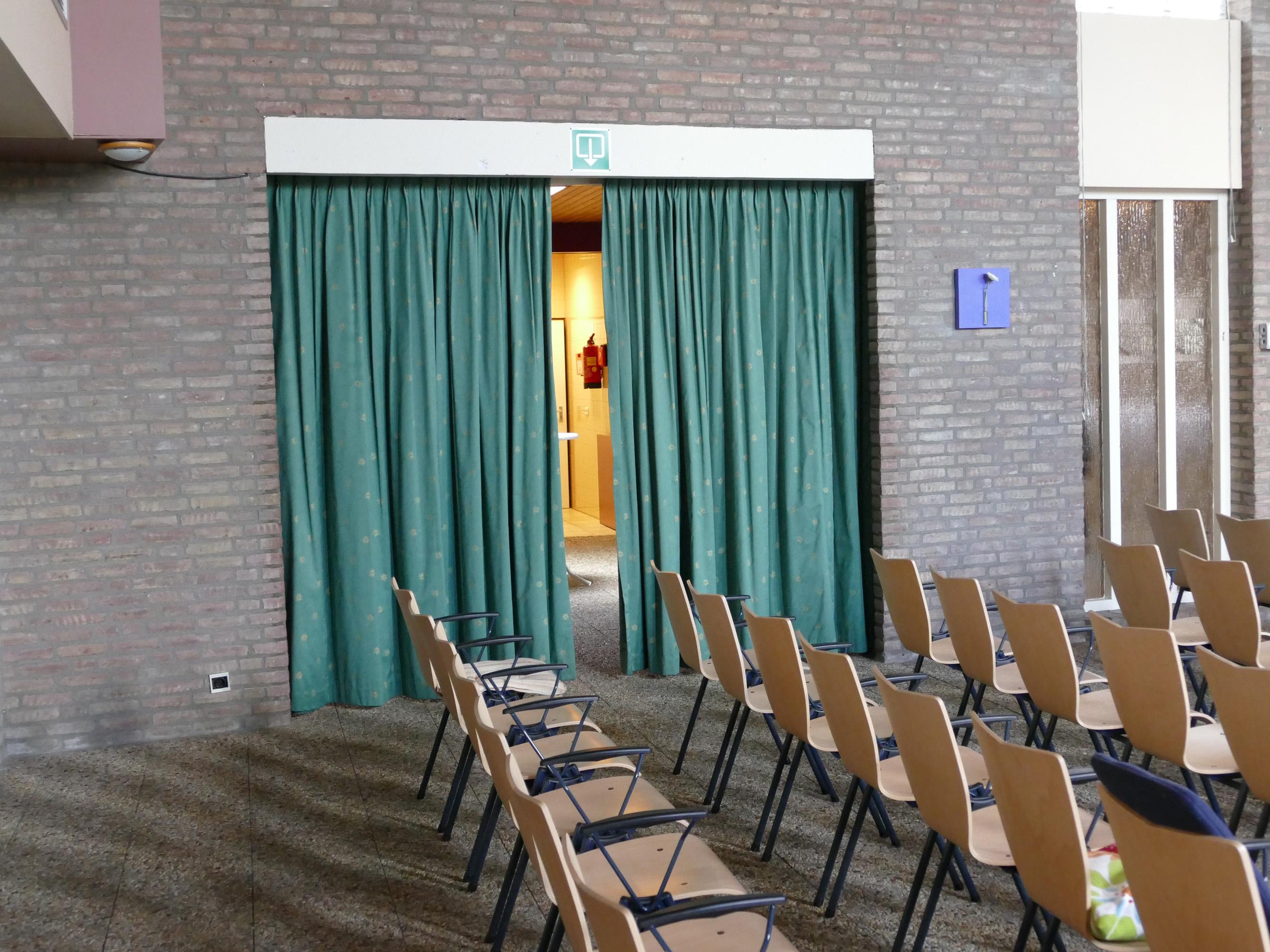<p>Oude situatie kerk de Vaste Burcht in Gouda. Beeld Open Kaart</p>