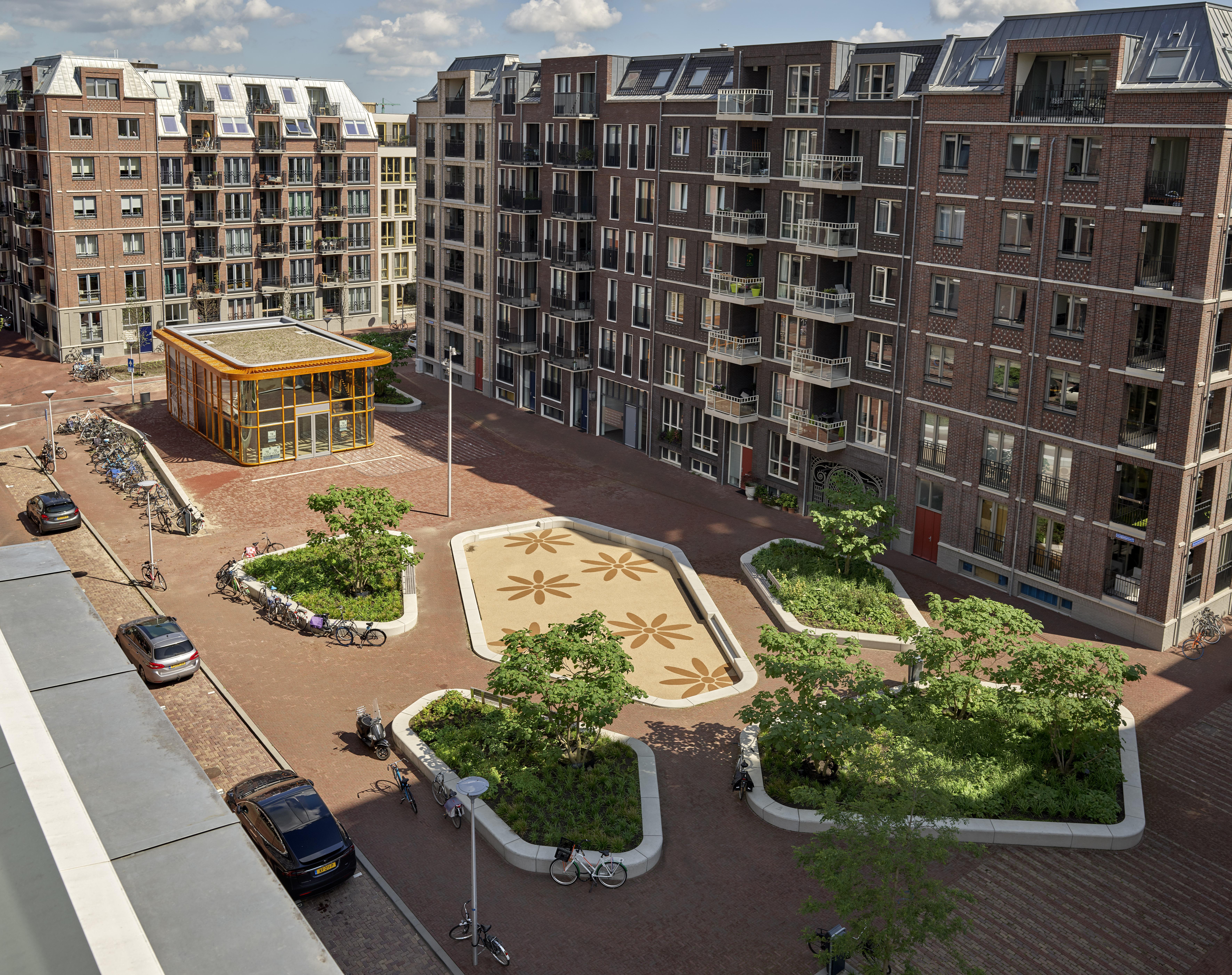 <p>Paviljoen Zijdebalen Utrecht door Rijnboutt. Beeld Kees Hummel</p>