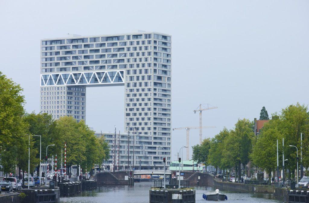Pontsteiger Amsterdam door Arons en Gelauff. Beeld Jeroen Musch