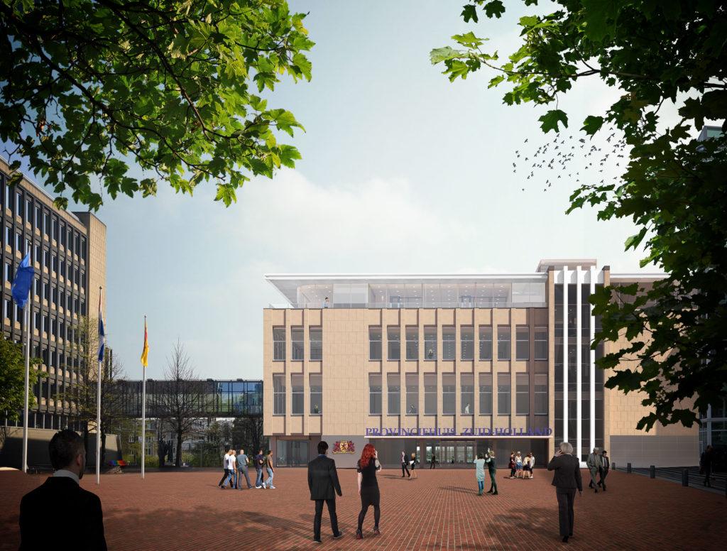 Impressie Renovatie Provinciehuis Den Haag