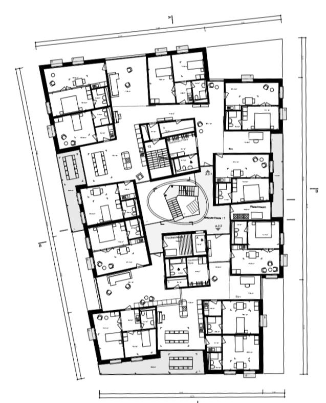 Verdieping in huis A' door 'Duplex Architekten'