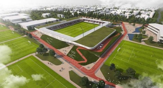 Architecten Sport- en (be)leefcampus De Braak in Helmond bekend