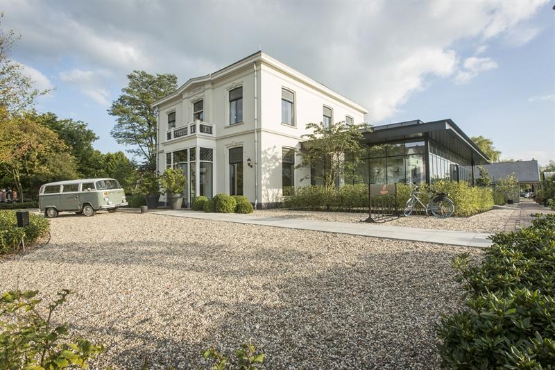 De winnaar van de Publieksprijs 2017:  Stadscafé en boothuis Welgelegen door Rob Rasquin (Rasquin architectuur/Groenlo)
