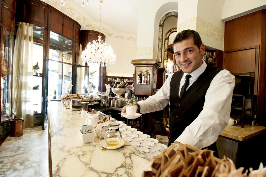 Koffiebar in Italië. Beeld Shutterstock