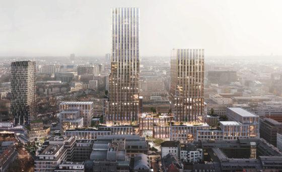 DELVA, CF Møller en B2Ai winnen derde prijs voor nieuw gebouw Europese Commissie