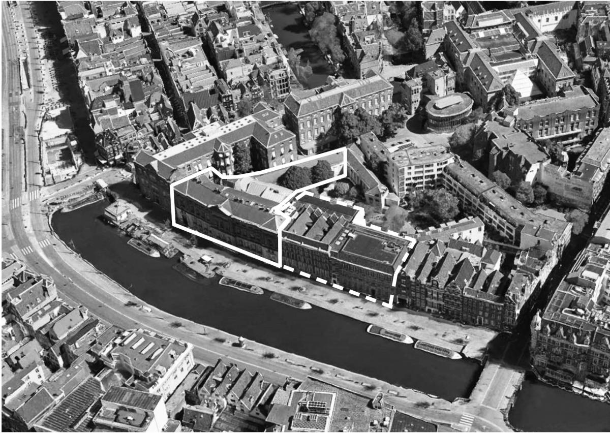 <p>Inbreiding en herinrichting museum van het Allard Pierson Amsterdam. Beeld Atelier PRO</p>