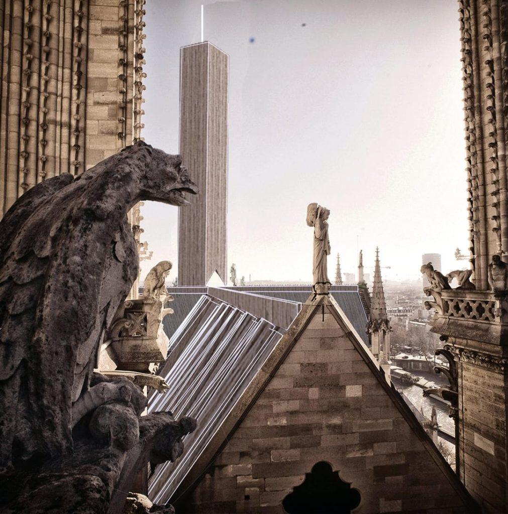Parijs open ontwerpwedstrijd Notre-Dame