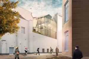 Officiële start bouw inbreiding Allard Pierson Amsterdam