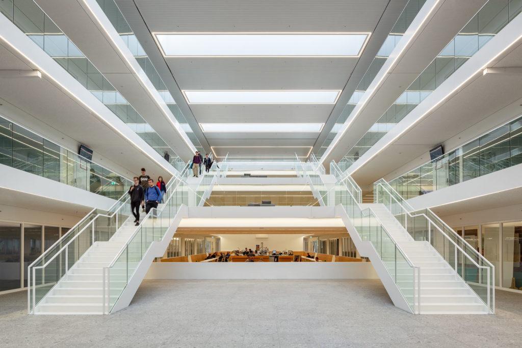 Campus Genk door Kempe Thill. Beeld Ulrich Schwarz