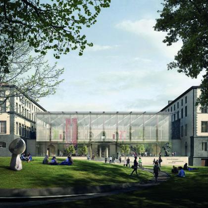 Stanton Williams ontwerpt nieuwe bibliotheek in Clermont-Ferrand in Frankrijk