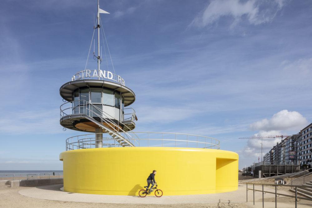 ARC19: Veiligheidspaviljoen Knokke-Heist (B) – Compagnie-O architecten