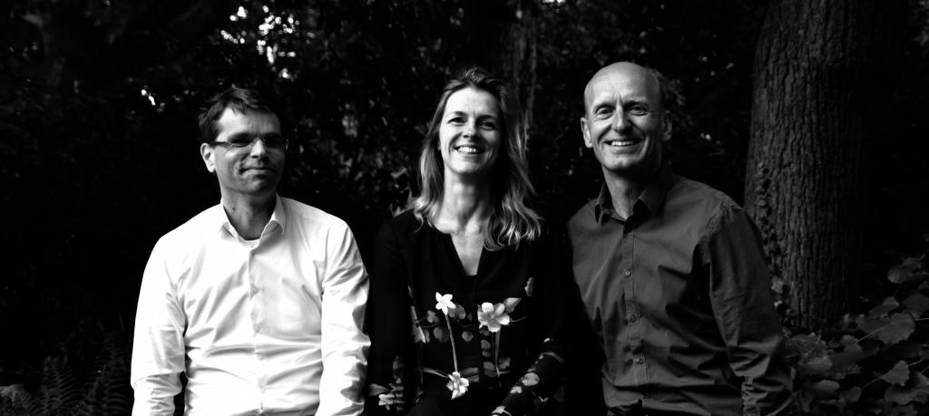 Nieuwe directie DP6 architectuurstudio: Dardo Mantel, Richelle de Jong en Dick de Gunst