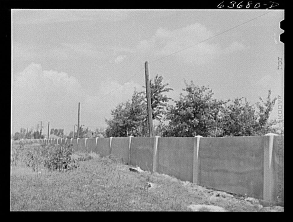 Detroit Wall in 1941