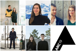 Genomineerden ARC19 Jong Talent Award presenteren zich aan jury