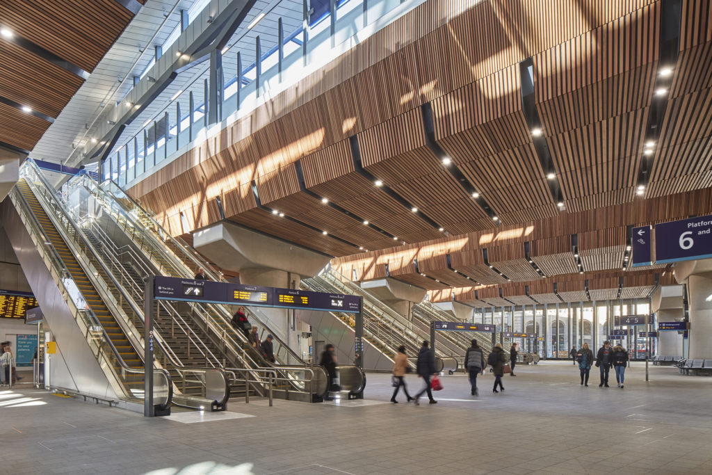 Nominatie RIBA Stirling Prize 2019 Londen Bridge Station. Beeld Paul Raftery