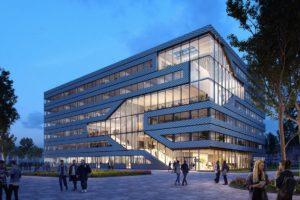 MVRDV ontwerpt duurzaam kantoren- en laboratoriumcomplex voor Amsterdam Sciencepark
