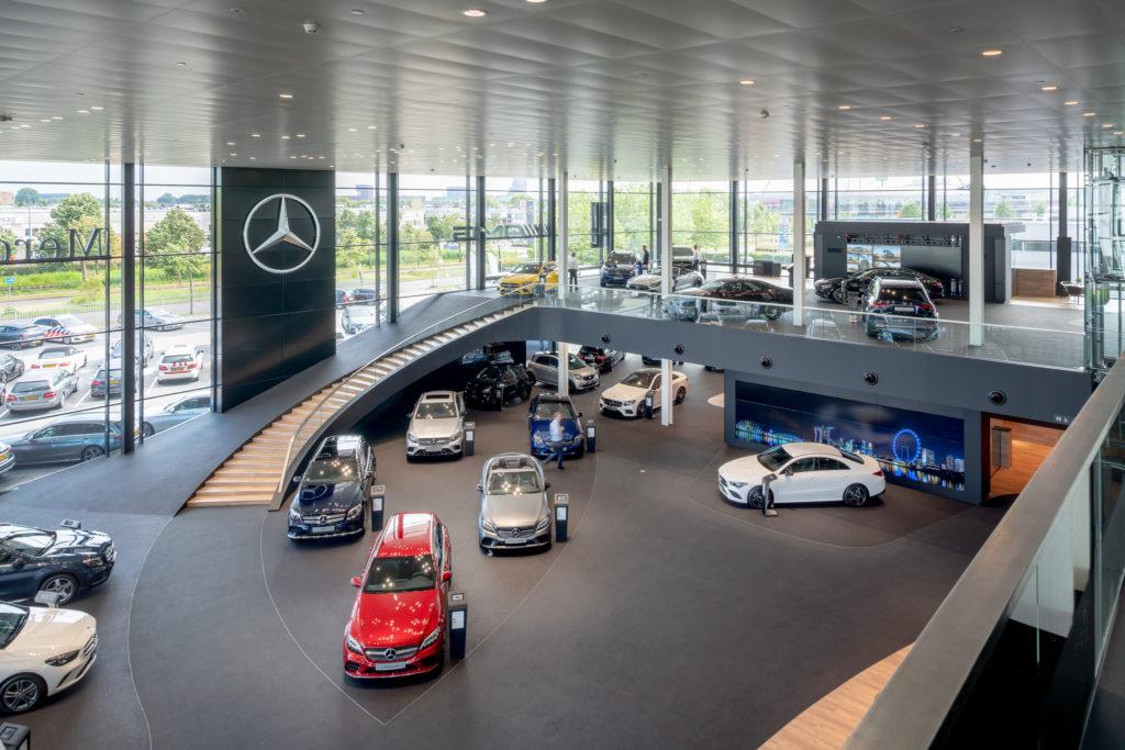Mercedes Benz Den Haag Ibelings van Tilburg architecten Beeld Ronald Tilleman
