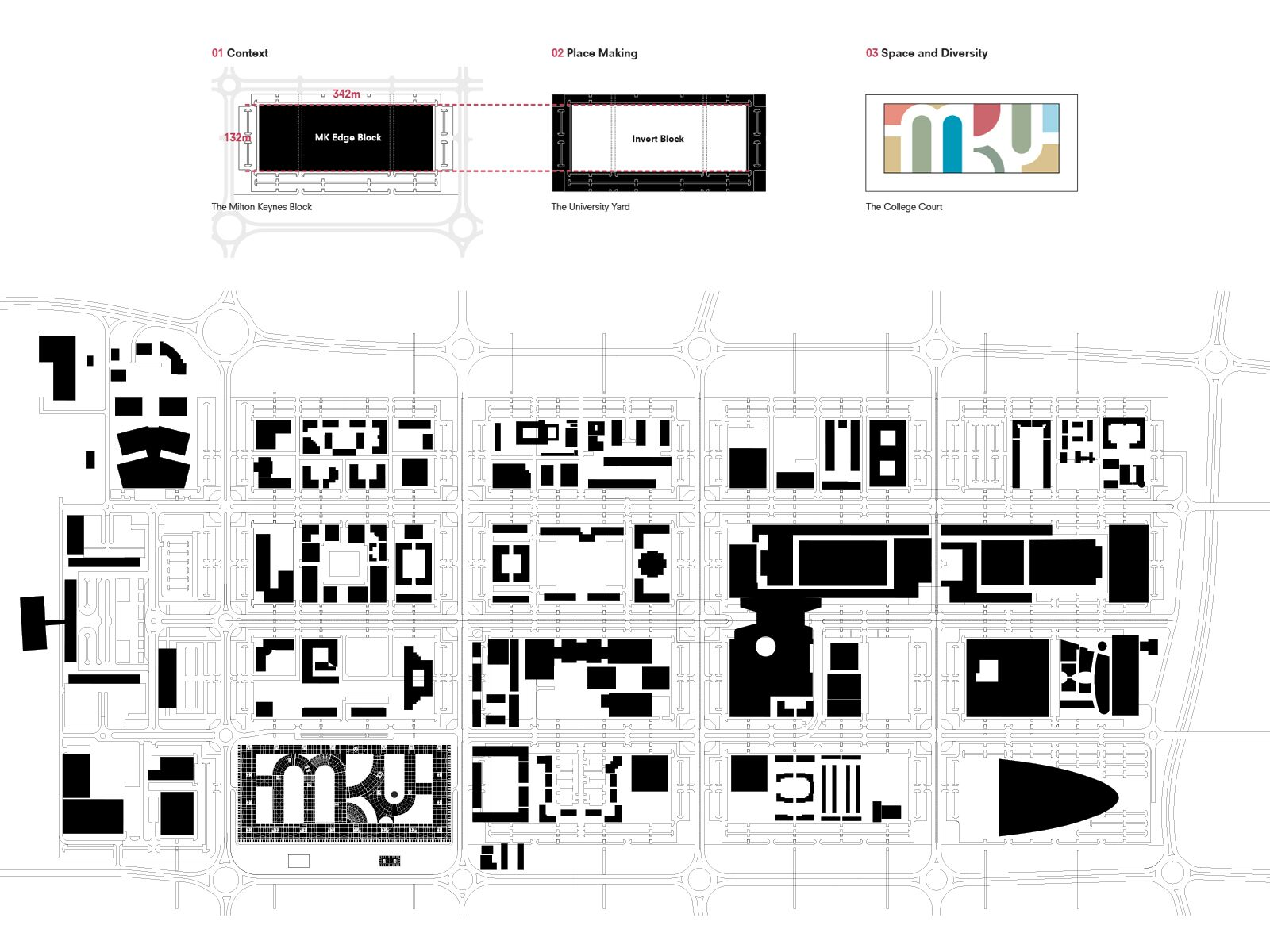 <p>OMA Ontwerp MK:U competition. Beeld Malcolm Reading Consultants/OMA</p>