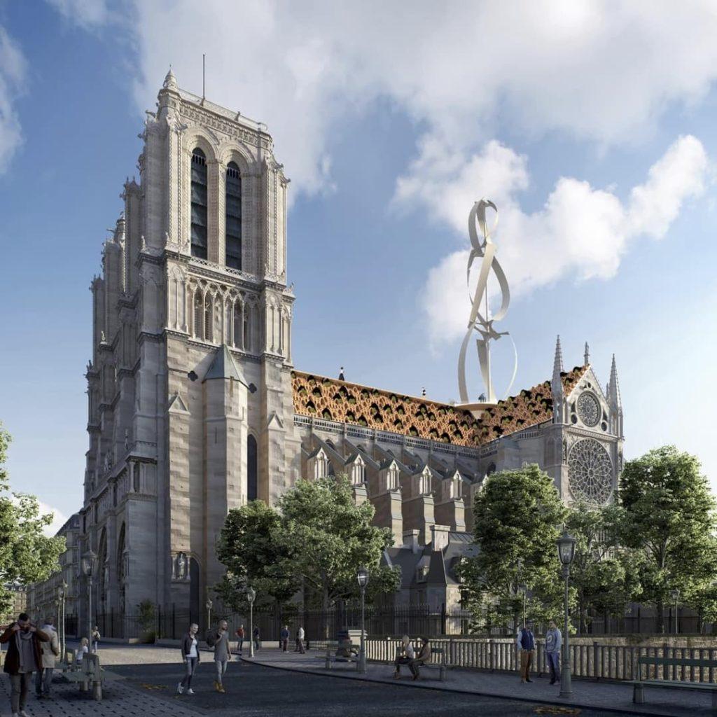 Parijs Notre Dame Open design competitie