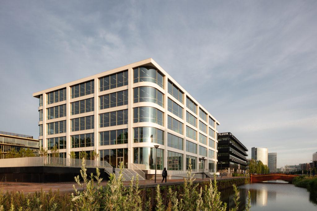 Hoofdkantoor Danone in Hoofddorp door Powerhouse Company. Beeld Sebastian van Damme