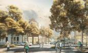 SELECT Stationsgebied Hilversum door De Zwarte Hond en OKRA: Centrum van Het Gooi
