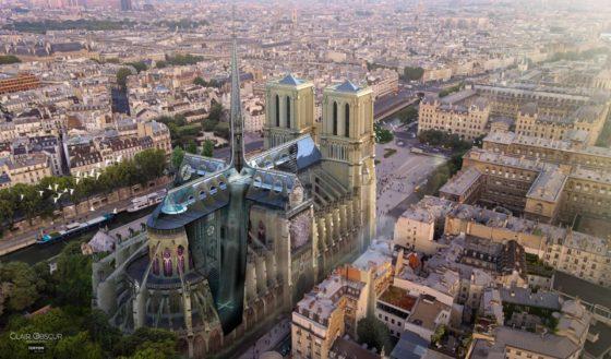 TEKTON Architekten deelnemer prijsvraag wederopbouw Notre-Dame