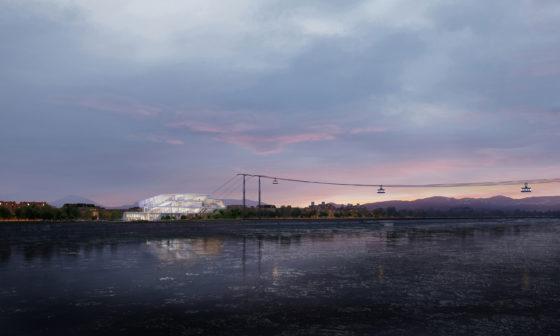 UNStudio geselecteerd voor Blagovesjtsjensk-kabelbaan tussen Rusland en China