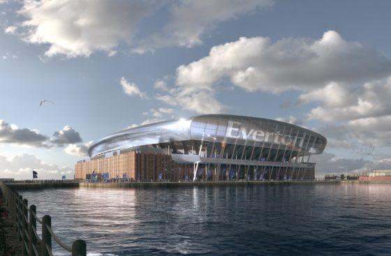 Nieuw stadion voor Everton FC